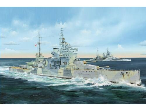 Trumpeter Battleship HMS Queen Elizabeth 1:350 (05324)