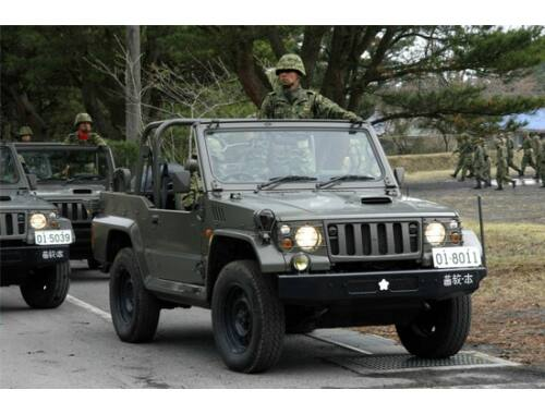 Trumpeter Japanese type 73 Jeep - New type 1:35 (05520)