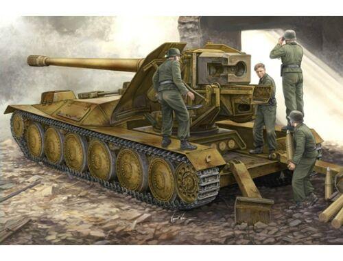 Trumpeter 12,8cm PAK 44 Waffenträger Krupp 1 1:35 (05523)