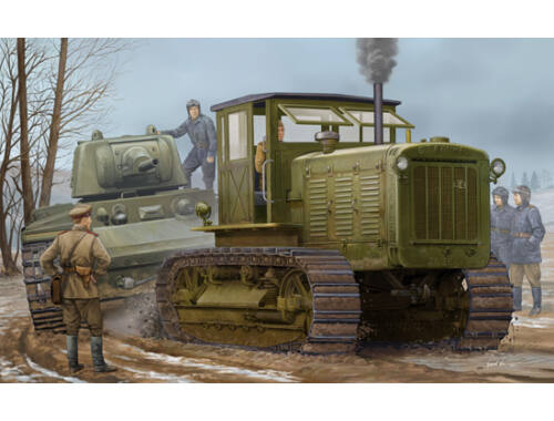 Trumpeter Russian ChTZ S-65 Tractor with Cab1 1:35 (05539)