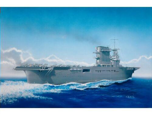 Trumpeter USS Lexington CV-2 05/1942 mit Flugzeugen und Wasserfläche!!!! 1:700 (05716)