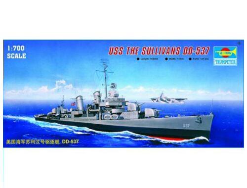 Trumpeter USS The Sullivans DD-537 1:700 (05731)