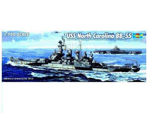 Trumpeter USS North Carolina BB-55 1:700 (05734)