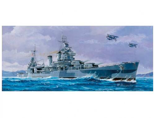 Trumpeter USS San Francisco CA-38 1944 1:700 (05747)