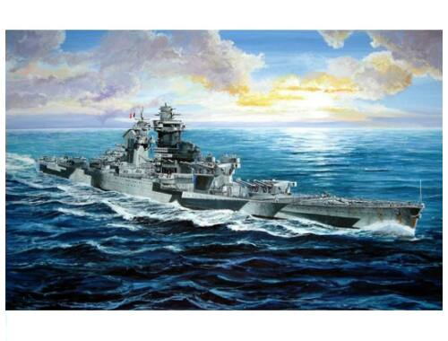 Trumpeter French Navy Richelieu 1943 1:700 (5750)