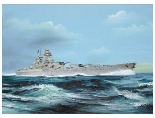 Trumpeter French Navy Richelieu 1949 1:700 (5751)
