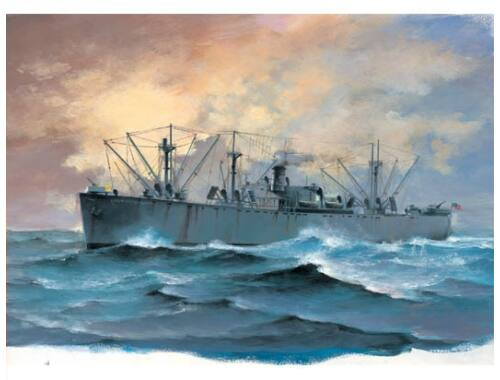 Trumpeter SS Jeremiah O'Brien Liberty Ship 1:700 (05755)