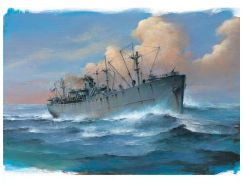 Trumpeter SS John W. Brown Liberty Ship 1:700 (05756)