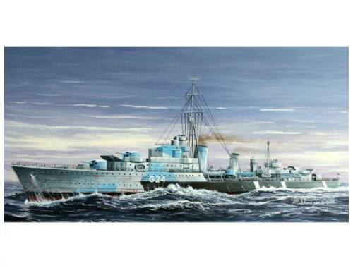 Trumpeter Tribal-class destroyer HMCS Huron (G24) 1944 1:700 (05759)