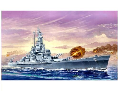 Trumpeter USS Massachusetts (BB-59) 1:700 (5761)