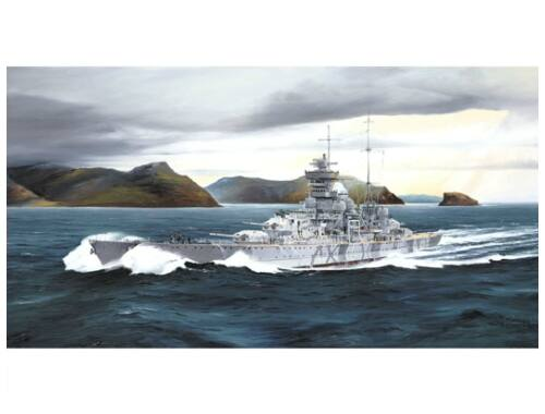 Trumpeter German cruiser Prinz Eugen 1942 1:700 (5766)