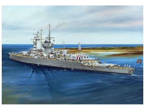 Trumpeter Ger. Battleship Admiral Graf Spee 1937 1:700 (05773)