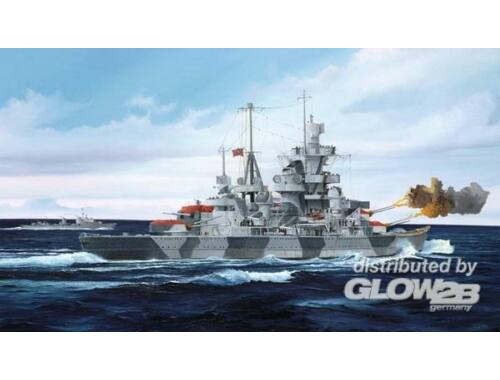 Trumpeter German Cruiser Admiral Hipper 1940 1:700 (05775)