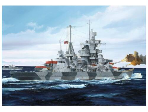 Trumpeter German Cruiser Admiral Hipper 1941 1:700 (05776)