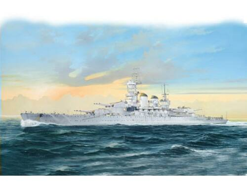 Trumpeter Italian Navy Battleship RN Littro 1941 1:700 (5778)