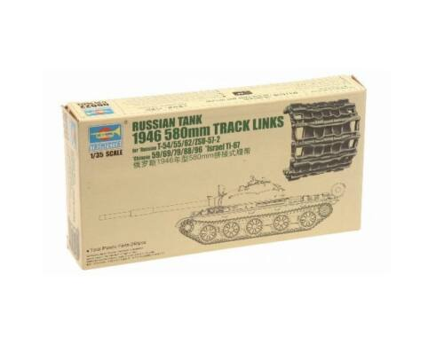 Trumpeter Russian T-54/55/62/ZSU-57 Track Link 1:35 (6622)