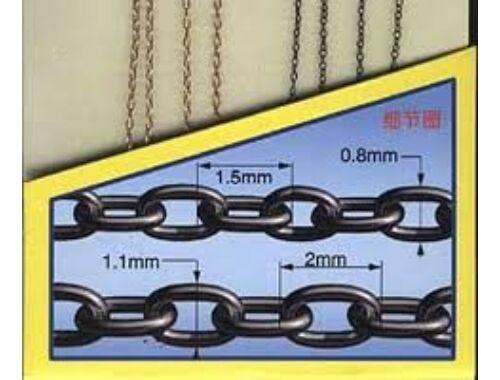Trumpeter 40cm universal fine chains set (2 types) 1:700 (6624)