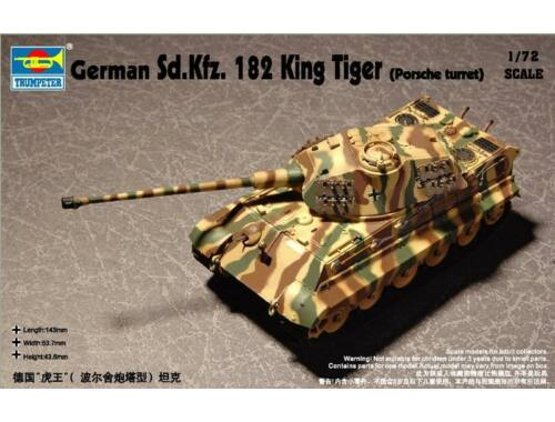 Trumpeter German Sd.Kfz. 182 King Tiger 1:72 (07202)