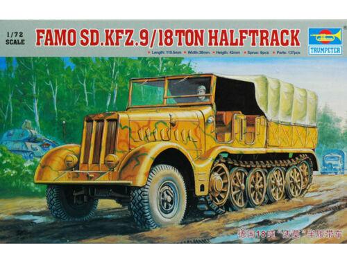 Trumpeter Sd.Kfz. 9 Famo 18 t Zugkraftwagen 1:72 (07203)