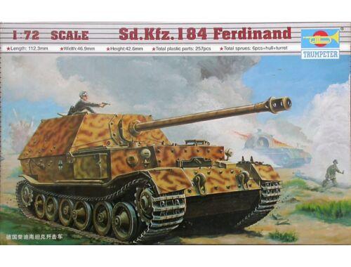 Trumpeter Sd.Kfz. 184 Tiger Ferdinand 1:72 (07205)