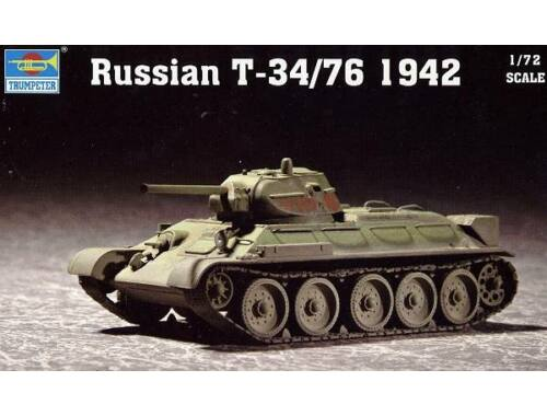 Trumpeter Russian T-34/76 Model 1942 1:72 (07206)
