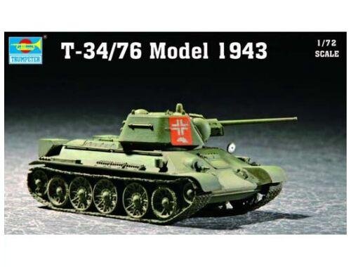 Trumpeter Soviet T-34/76 Model 1943 1:72 (07208)