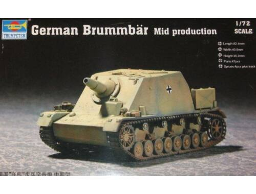 Trumpeter German Brummbär Mid Production 1:72 (7211)