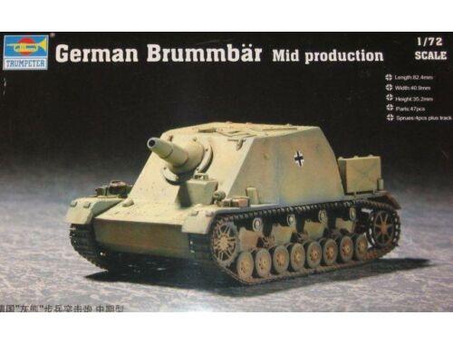 Trumpeter German Brummbär Mid Production 1:72 (7211)