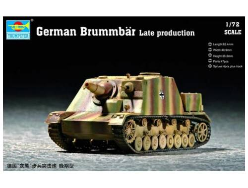 Trumpeter German Brummbär Late Production 1:72 (7212)