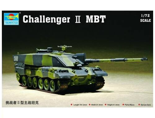Trumpeter Challenger II MBT 1:72 (7214)