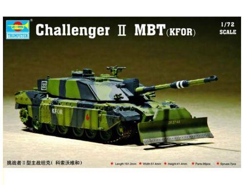 Trumpeter Challenger II MBT (KFOR) 1:72 (7216)