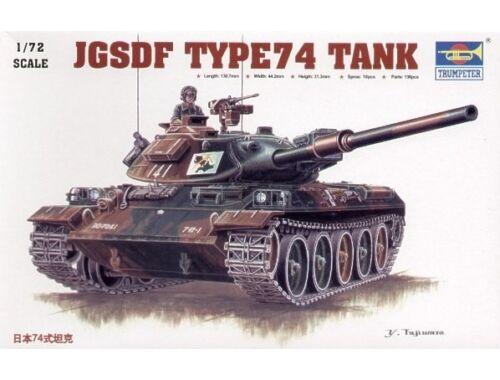 Trumpeter Japanese Typ 74 1:72 (7218)