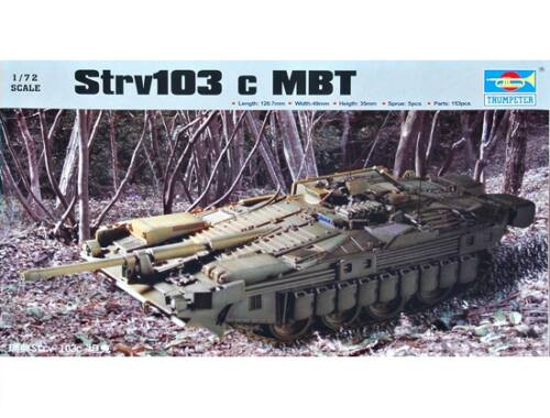 Trumpeter Strv103c MBZ 1:72 (7220)