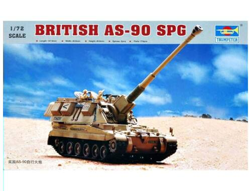 Trumpeter Britisch AS-90 Self-Propelled Howitzer 1:72 (7221)