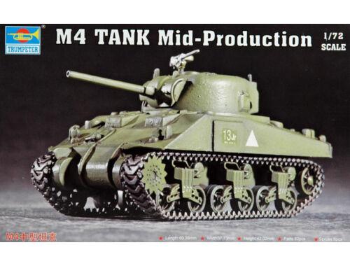 Trumpeter M4 (Mid) Tank 1:72 (07223)