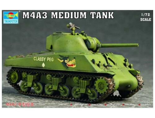 Trumpeter M4A3 Tank 1:72 (7224)