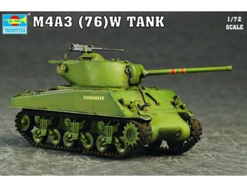 Trumpeter M4A3 76(W) Tank 1:72 (07226)