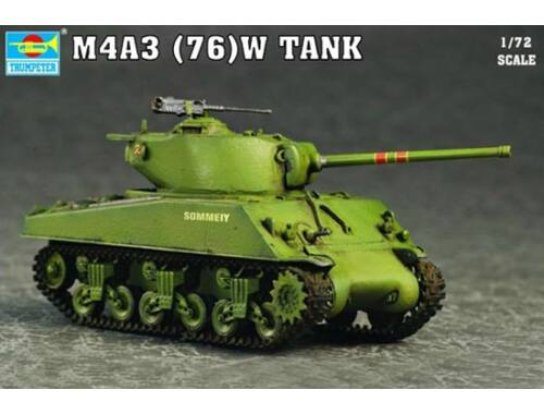Trumpeter M4A3 76(W) Tank 1:72 (7226)