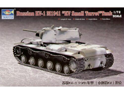 Trumpeter Russian KV-1 M1941 ''KV Small Turret'' Tank 1:72 (7232)
