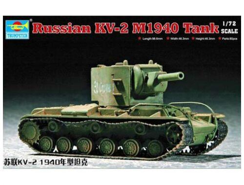 Trumpeter Soviet KV-2 M1940 1:72 (07235)