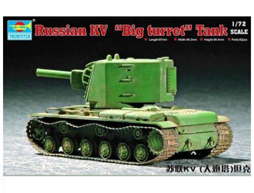 Trumpeter Soviet KV Big Turret 1:72 (07236)