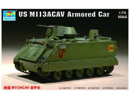 Trumpeter US M 113 ACAV Armored Car 1:72 (07237)