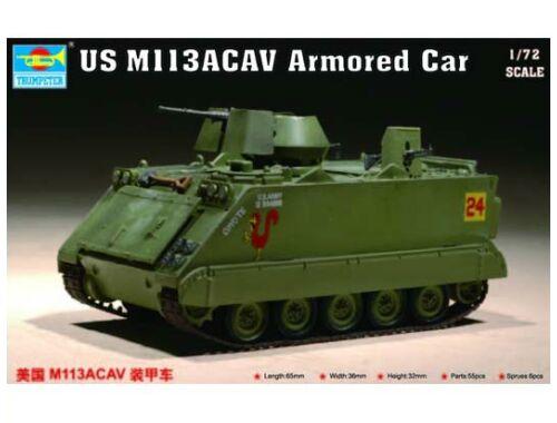 Trumpeter US M 113 ACAV Armored Car 1:72 (7237)