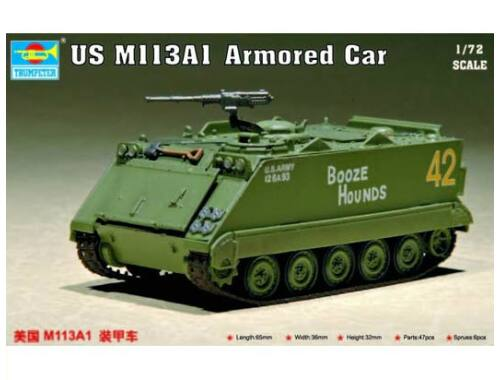 Trumpeter US M 113 A1 Armored Car 1:72 (7238)