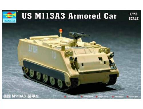 Trumpeter US M113A3 Armored Car 1:72 (07240)