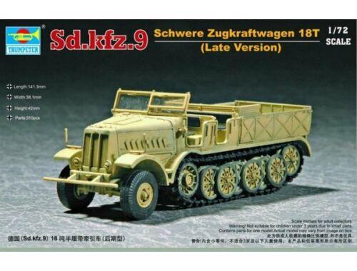 Trumpeter Sd.Kfz. 9 schwerer Zugkraftwagen 18t Type F3 1:72 (7252)
