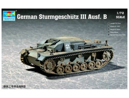 Trumpeter German Sturmgeschütz III Ausf. B 1:72 (07256)