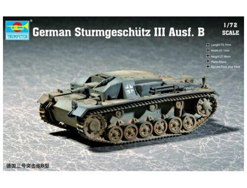 Trumpeter German Sturmgeschütz III Ausf. B 1:72 (7256)