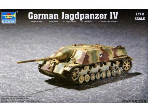 Trumpeter German Jagdpanzer IV 1:72 (07262)