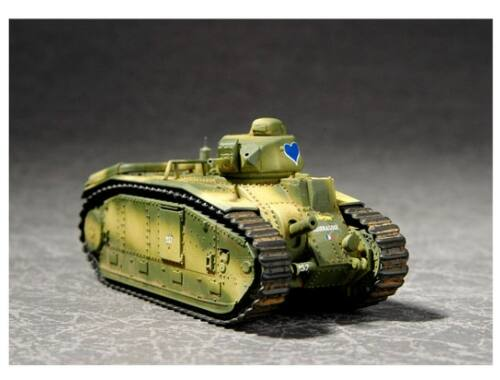 Trumpeter French Char B1Heavy Tank 1:72 (07263)